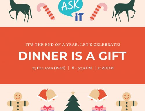 "Annual Party 2020 – ""Dinner is a Gift"""